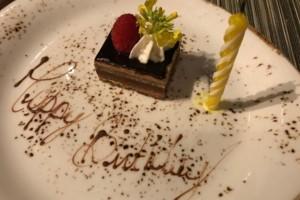 free dessert on birthday